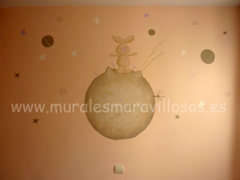 murales conejitos
