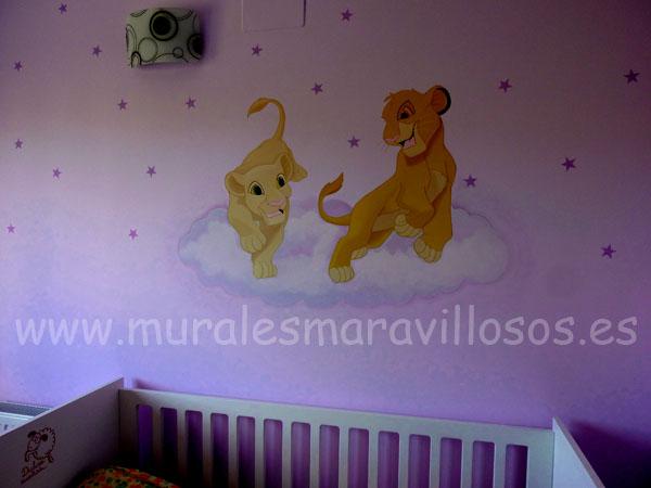 rey leon murales