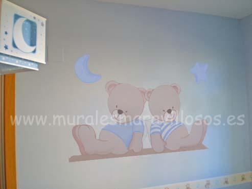 murales dos ositos