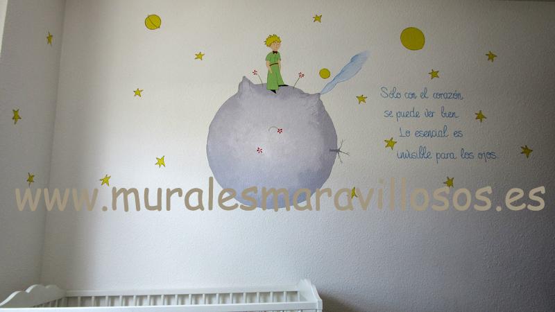 mural el principito