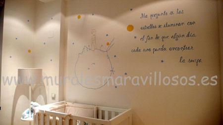 habitaciones infantiles le petit prince
