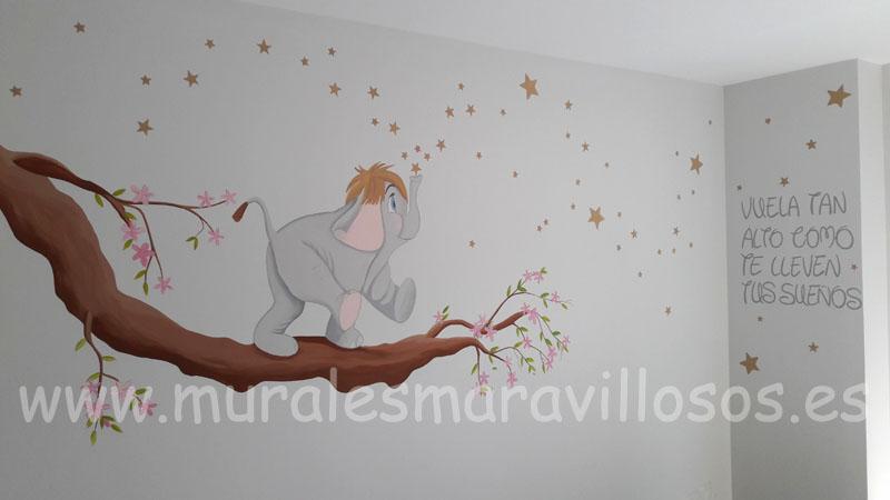 murales el libro de la selva hathi