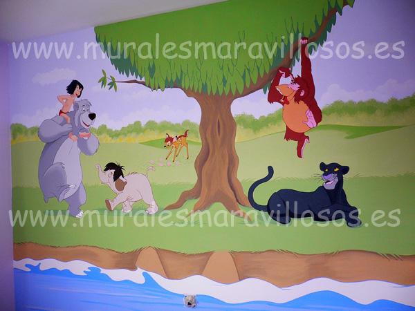 murales infantiles paredes