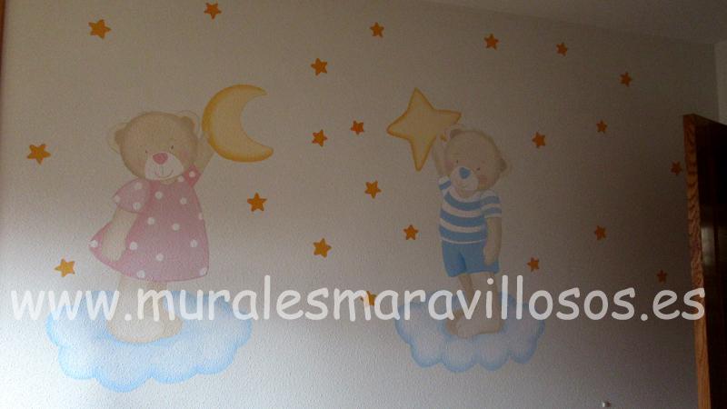 murales de ositos