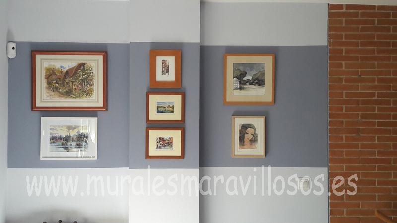 pintura original paredes decoración cuadros