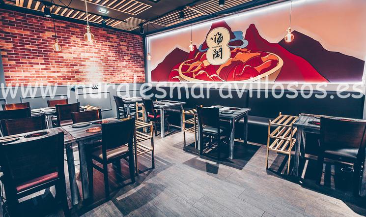 murales pintados restaurantes