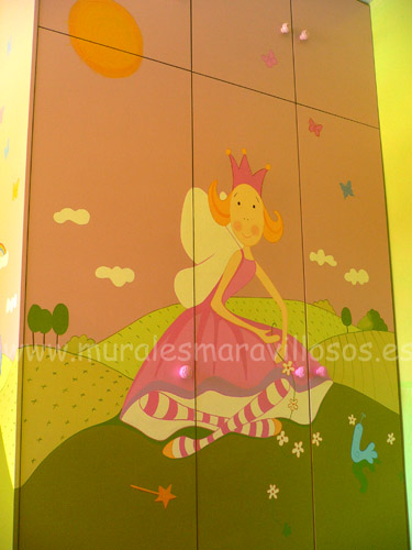 valeria varita armarios murales infantiles