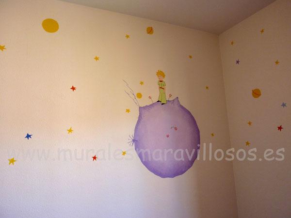 murales pintados el principito