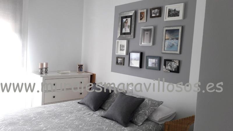 colocacion cuadros pintura paredes rectangulo