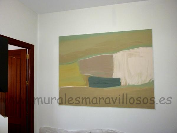 murales pintados en salones cuadros