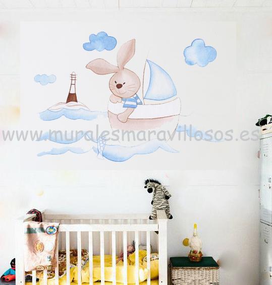 conejitos habitaciones bebe