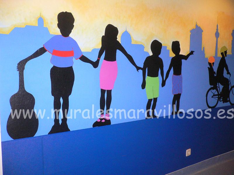 murales pintados hospital doce de octubre neonatologia
