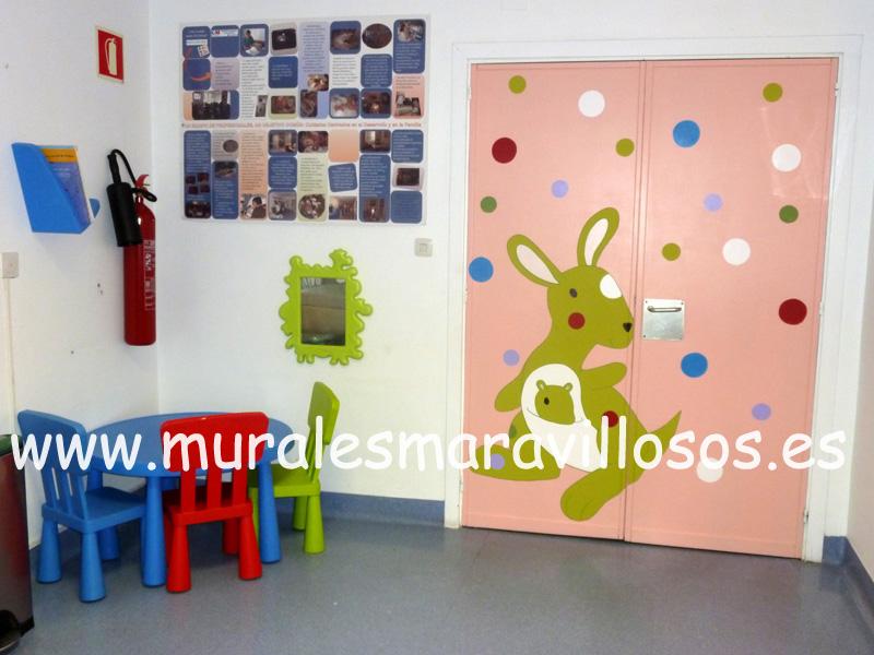 puertas infantiles hospitales