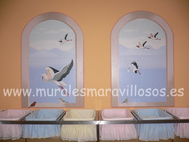 murales clinica la milagros neonatologia