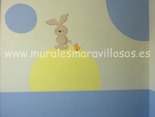 murales infantiles pintados hospitales