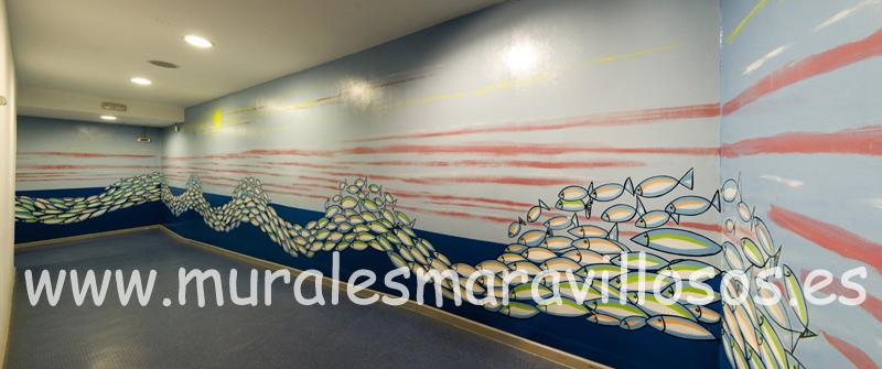 murales pasillos hospitales tenerife