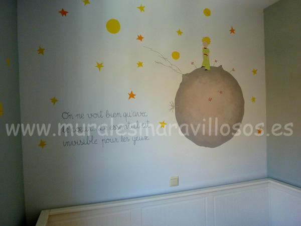 pintura dormitorios infantiles principito