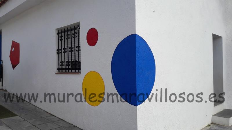colegio eurovillas mural