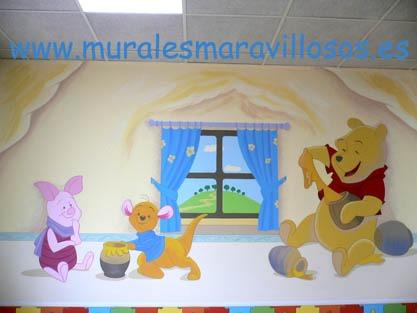 murales guarderias tres cantos