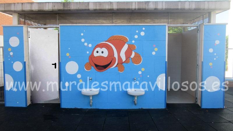 murales colegios fachadas