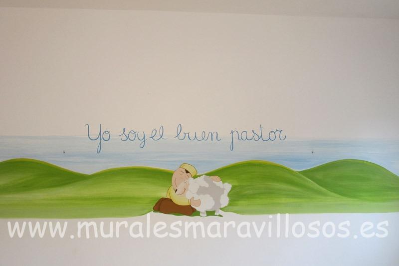 murales pintados oratorios infantiles