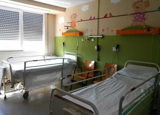 habitaciones hospitales con murales infantiles
