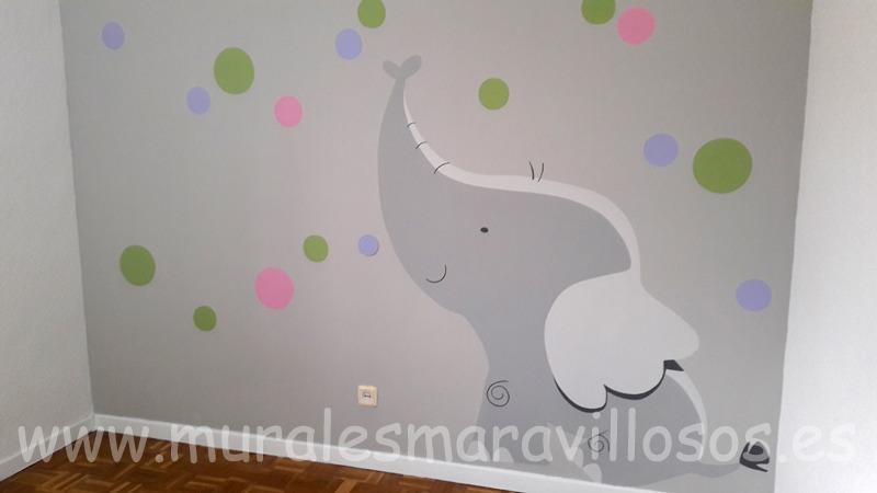 murales infantiles de animales