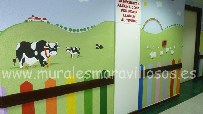 murales en hospitales
