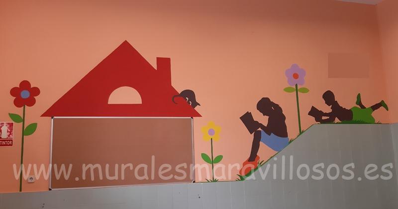 murales para colegios