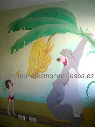 decoracion mural baloo