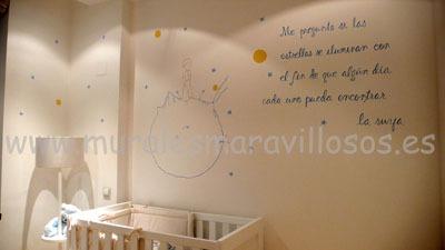 el principito habitaciones infantiles
