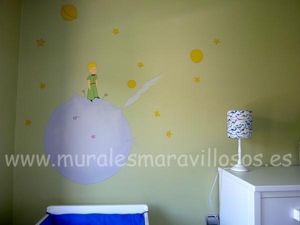 el principito murales