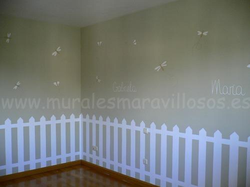 mural infantil valla zocalo