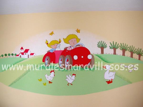 murales pintados para ninos