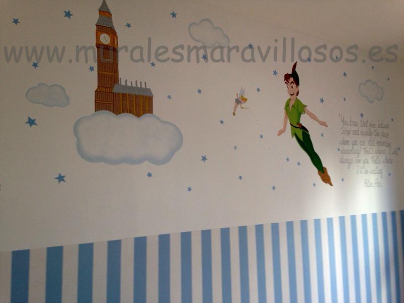 mural peterpan bigben