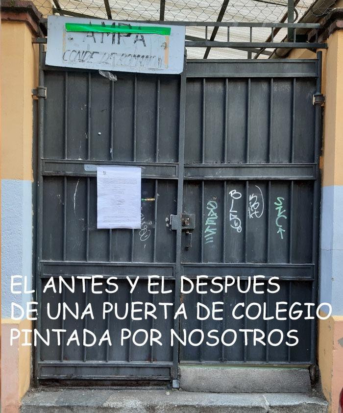 pintura puertas infantiles